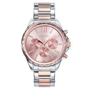 Reloj Viceroy mujer de acero rosa